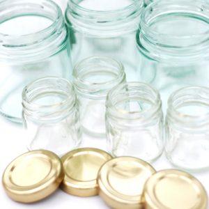 cheap Jam jars and lids