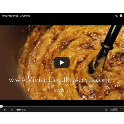 How to make Chutney Video